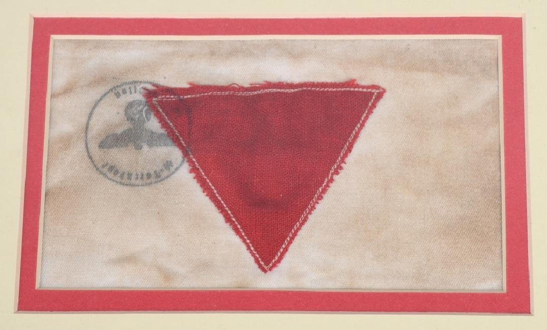 WWII COMMUNIST CONCENTRATION CAMP ARMBAND - 2