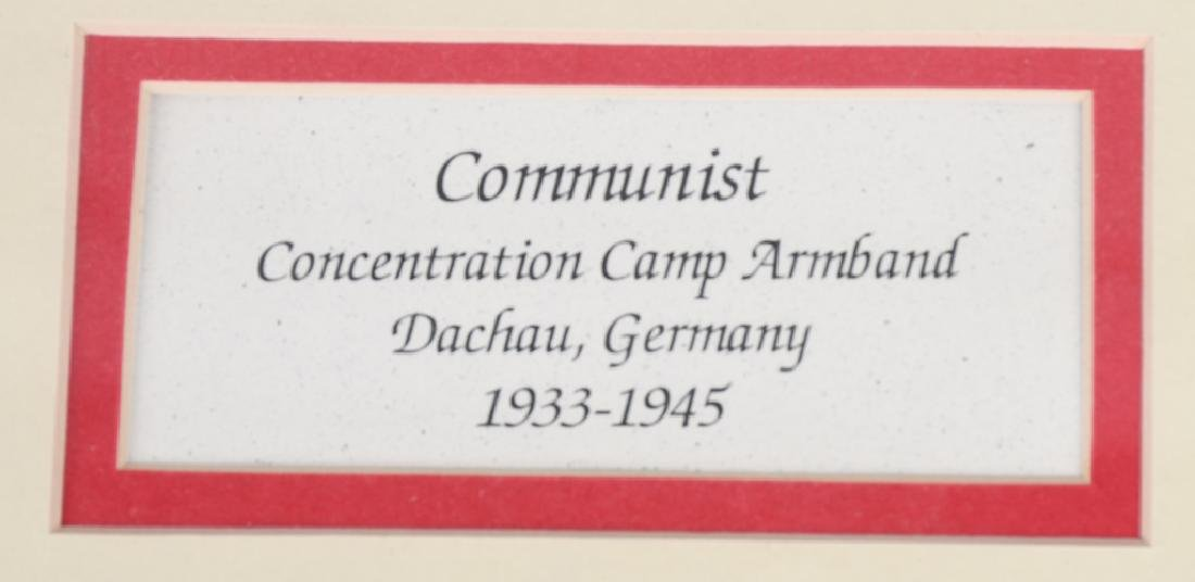 WWII COMMUNIST CONCENTRATION CAMP ARMBAND - 3