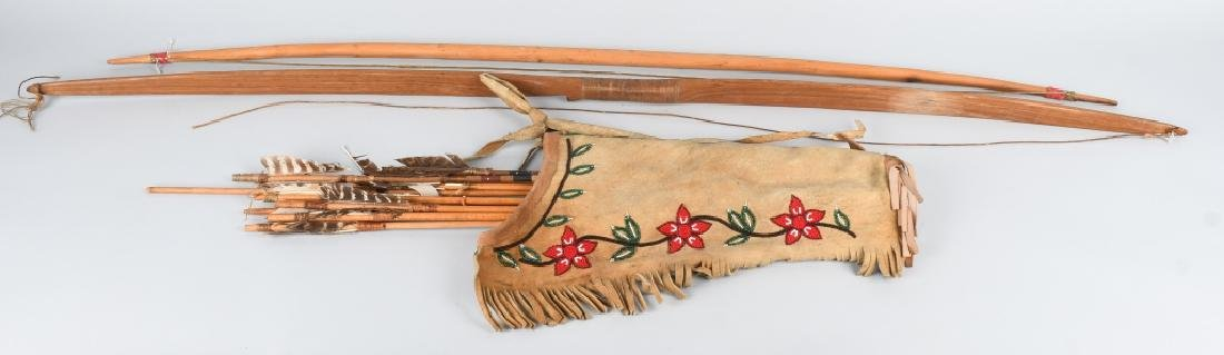 ATHABASCON BEADED QUIVER, and MORE