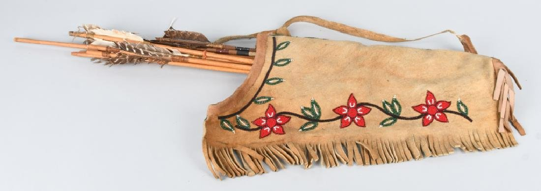 ATHABASCON BEADED QUIVER, and MORE - 2