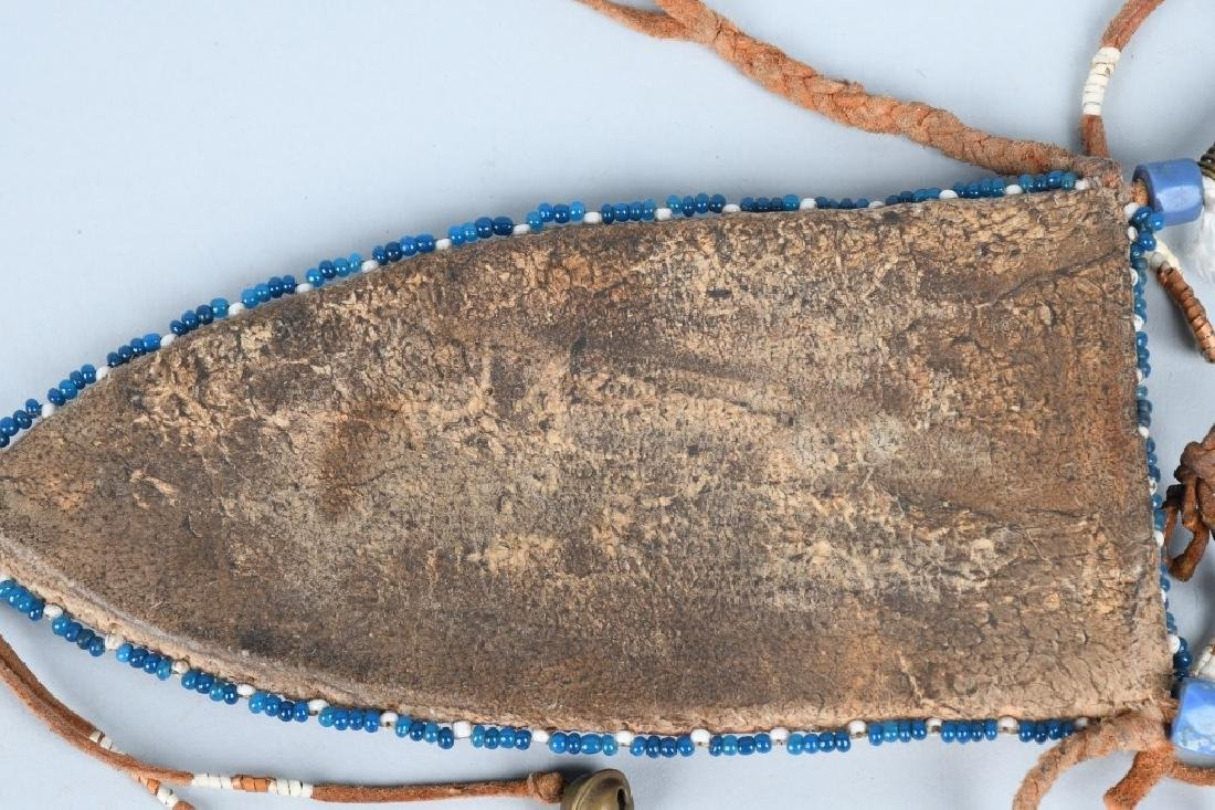 SILVER HANDLED KNIFE BEADED SHEATHS & MORE - 8
