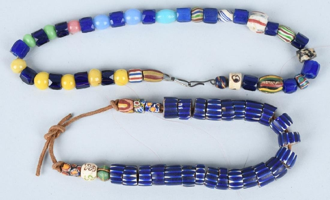 LARGE LOT of GLASS TRADE BEADS & MORE - 3