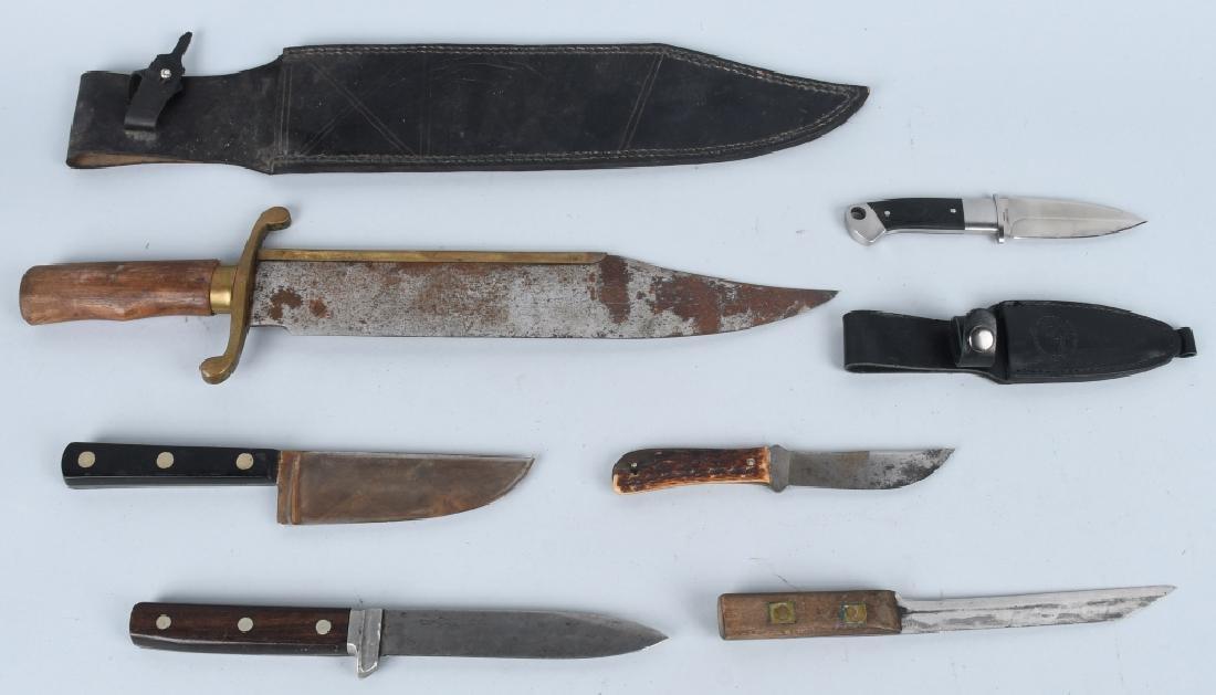 6-FIXED BLADE KNIVES