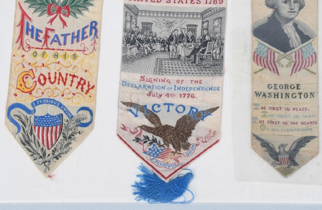 4-1876 PHILADELPHIA CENTENNIAL WASHINGTON RIBBONS - 5