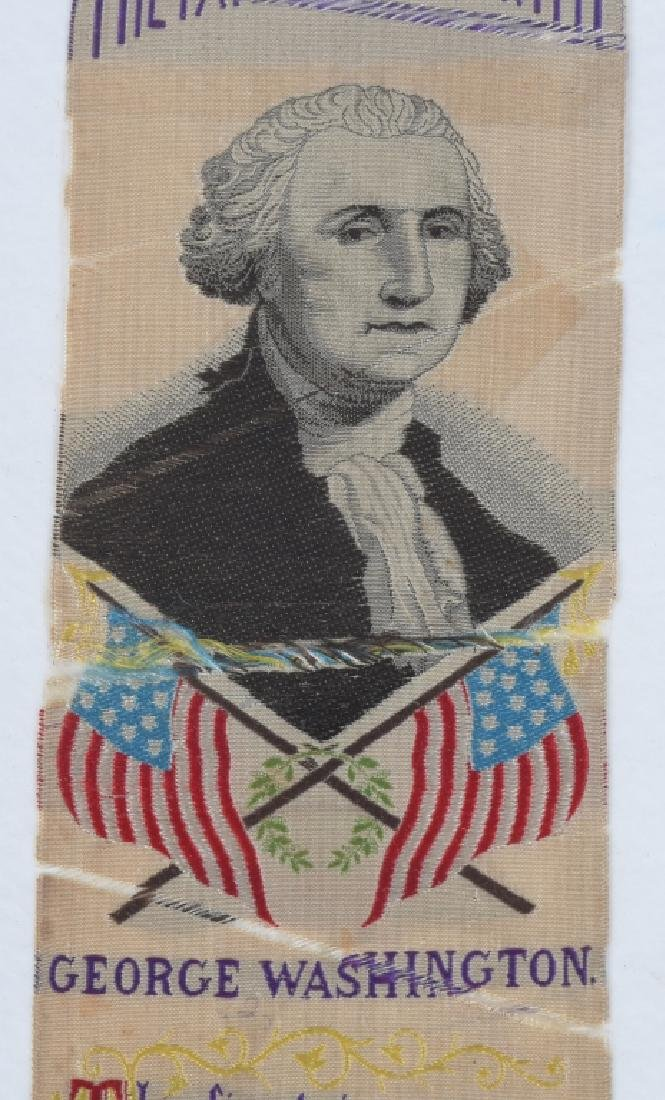 4-1876 PHILADELPHIA CENTENNIAL WASHINGTON RIBBONS - 7