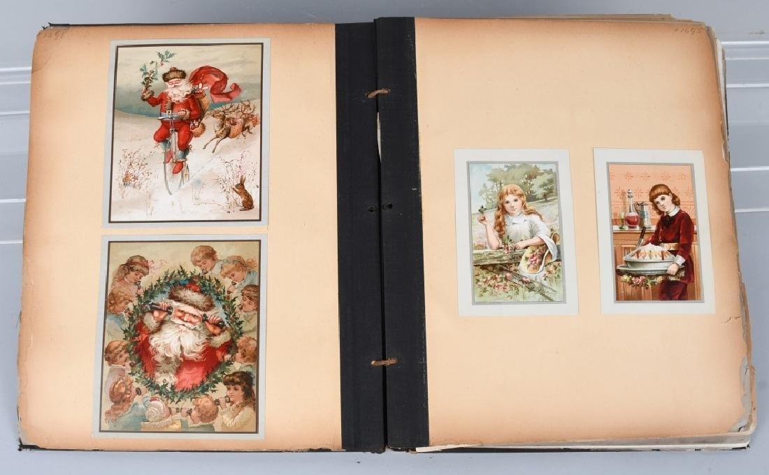19th CENT. SALESMAN SAMPLE CARD PORTFOLIO - 2