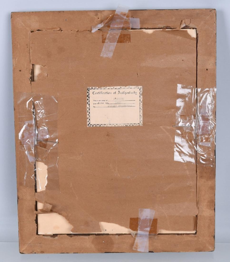 1897 GEORGE WASHINGTON ETCHING, ALBERT ROSENTHAL - 5