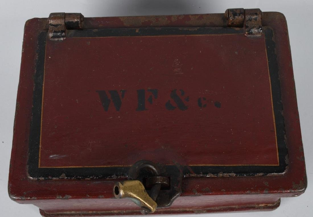 ANTIQUE STRONG BOX with LOCK - 2