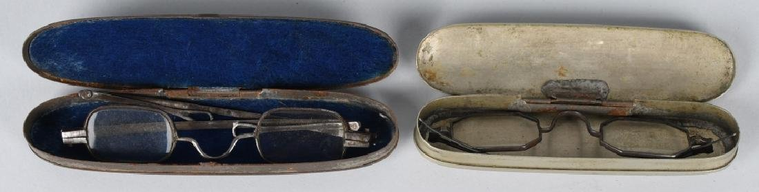 19th CENT. WALLET, GLASSES, MONEY & MORE - 3