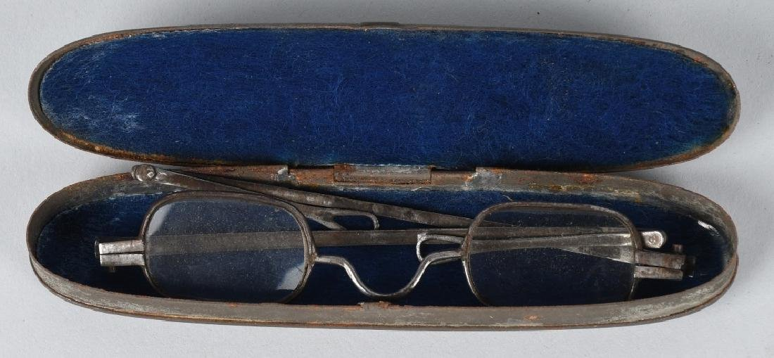 19th CENT. WALLET, GLASSES, MONEY & MORE - 4