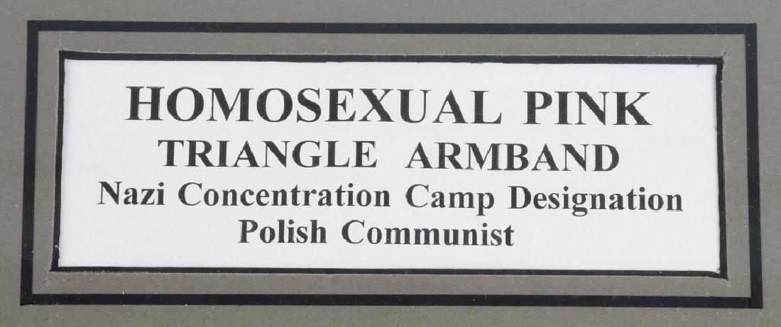 WWII POLISH COMMUNIST HOMOSEXUAL ARMBAND - 3