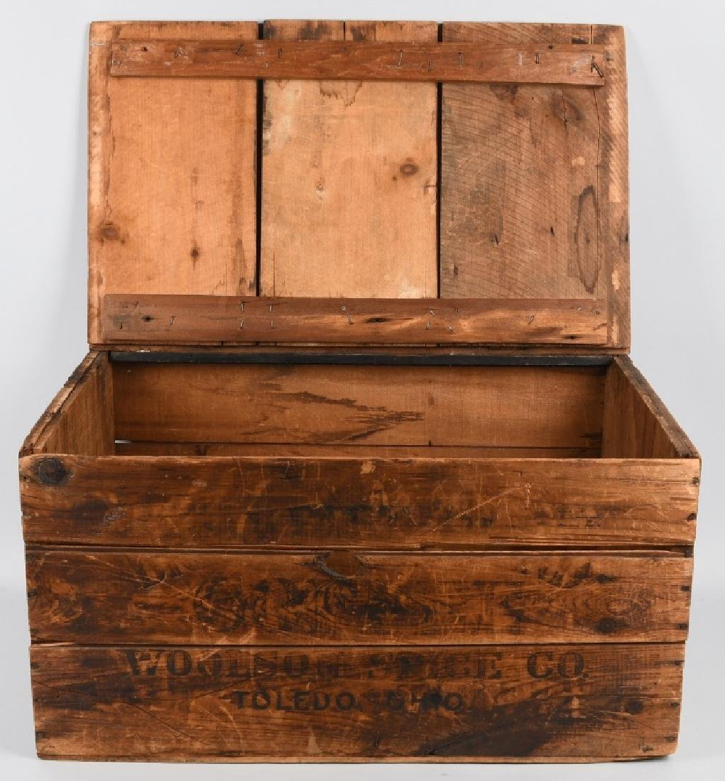 EARLY BREAKFAST BLEND WOODEN COFFEE CRATE