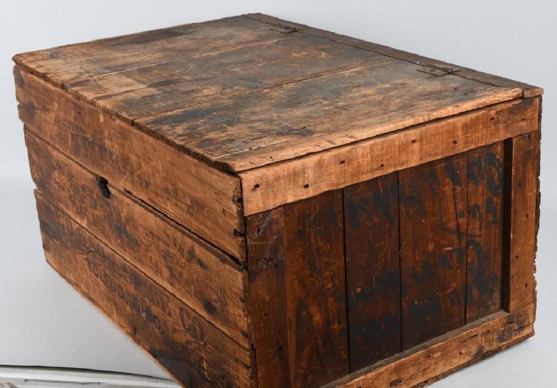 EARLY BREAKFAST BLEND WOODEN COFFEE CRATE - 3