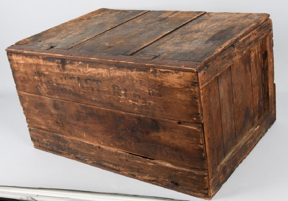 EARLY BREAKFAST BLEND WOODEN COFFEE CRATE - 5