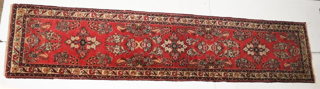 "148""x32"" ANTIQUE IRAN ORIENTAL RUNNER RUG"