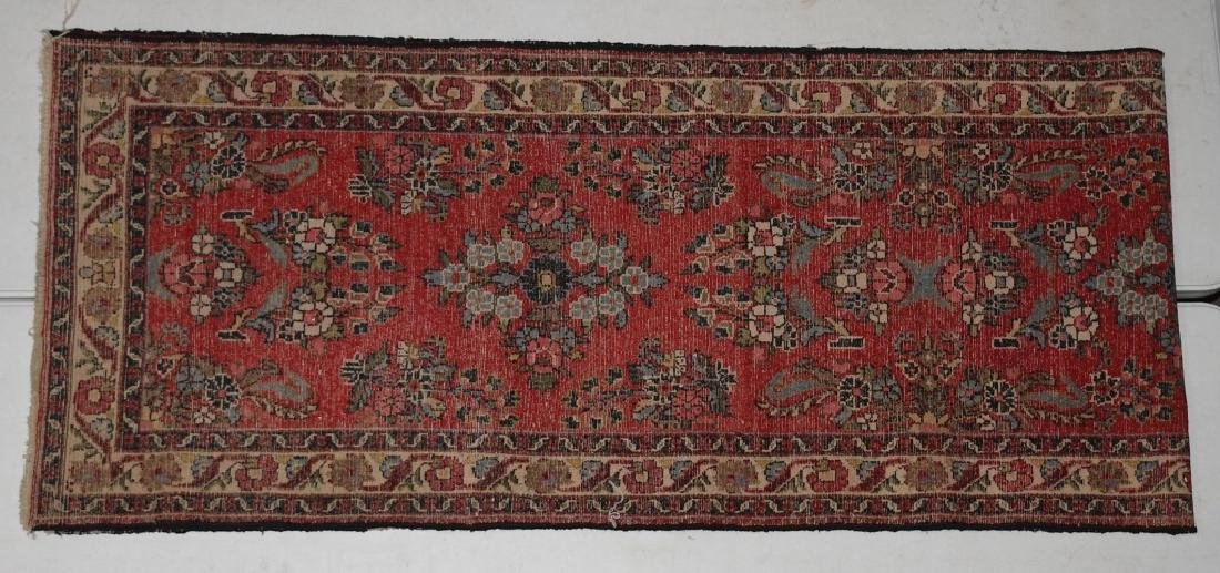 "148""x32"" ANTIQUE IRAN ORIENTAL RUNNER RUG - 6"