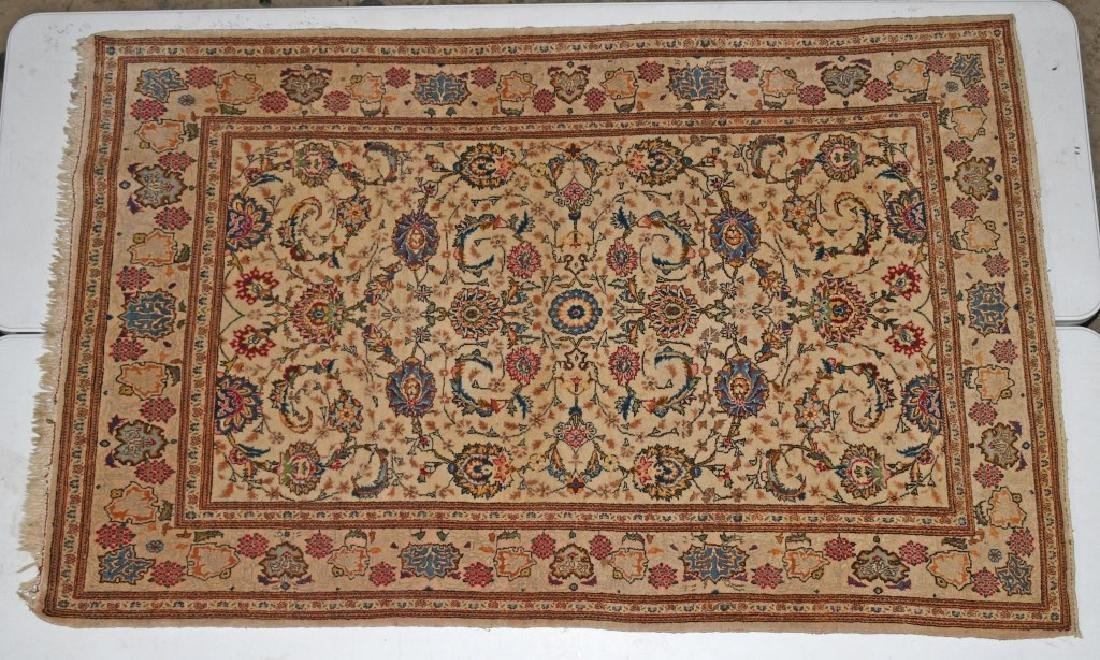 "84""x52"" ANTIQUE ORIENTAL RUG MADE IN JARAN"