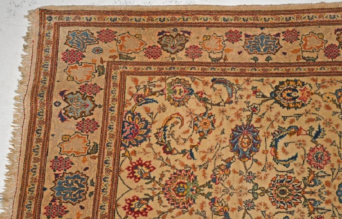 "84""x52"" ANTIQUE ORIENTAL RUG MADE IN JARAN - 3"