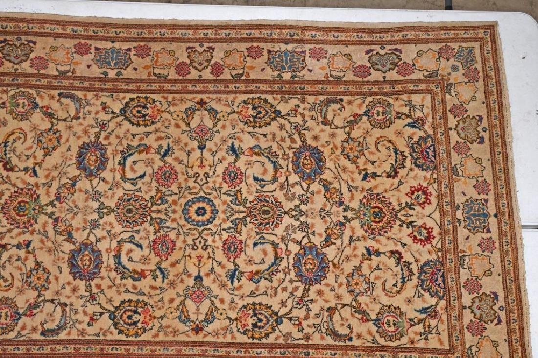 "84""x52"" ANTIQUE ORIENTAL RUG MADE IN JARAN - 4"