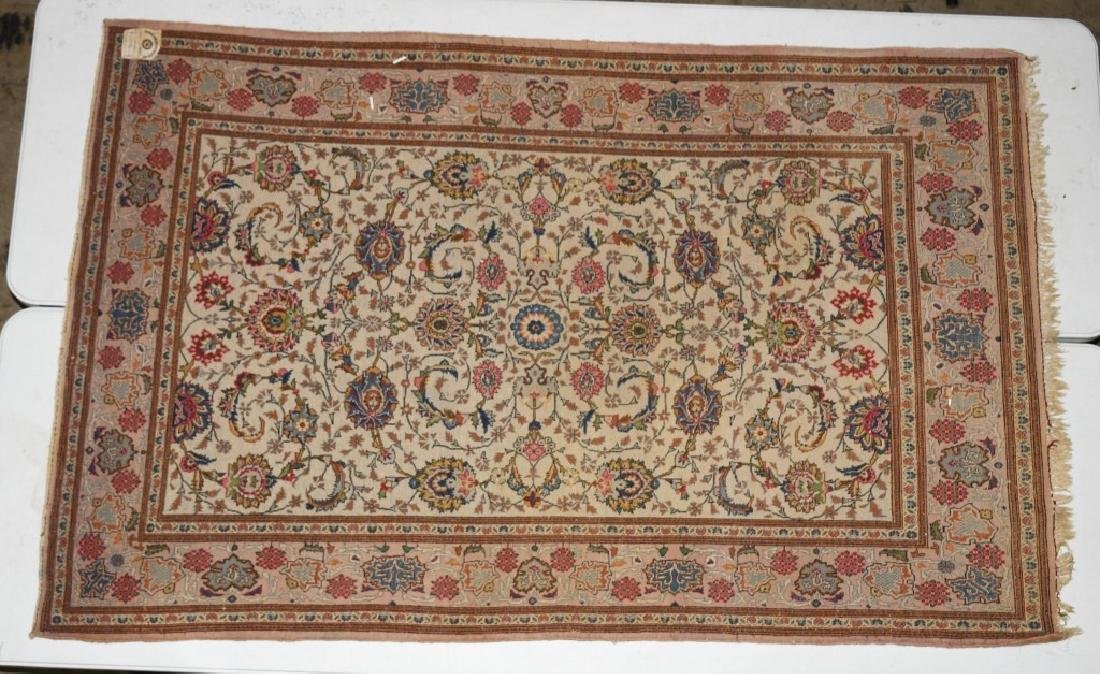 "84""x52"" ANTIQUE ORIENTAL RUG MADE IN JARAN - 6"