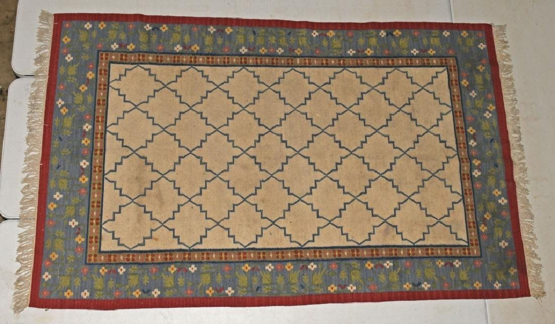 "98""x61"" ANTIQUE TURKISH KALIM RUG"