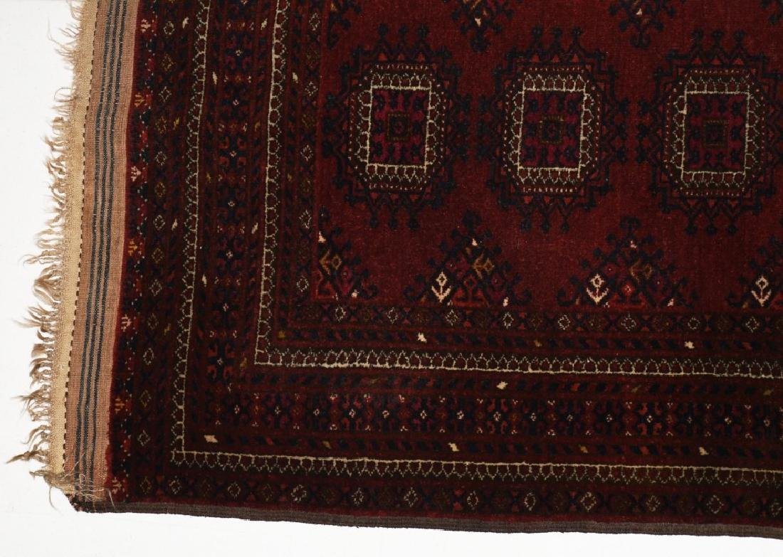 "60""x48"" ANTIQUE AFGHAN ORIENTAL RUG - 2"
