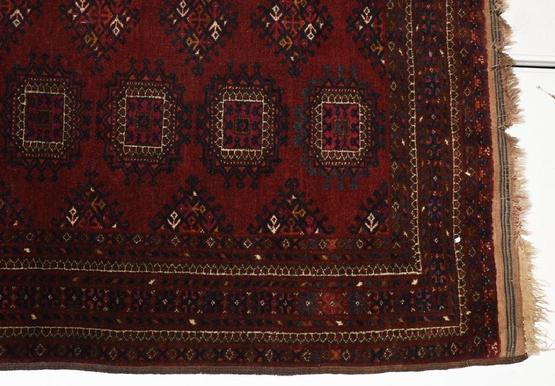 "60""x48"" ANTIQUE AFGHAN ORIENTAL RUG - 3"
