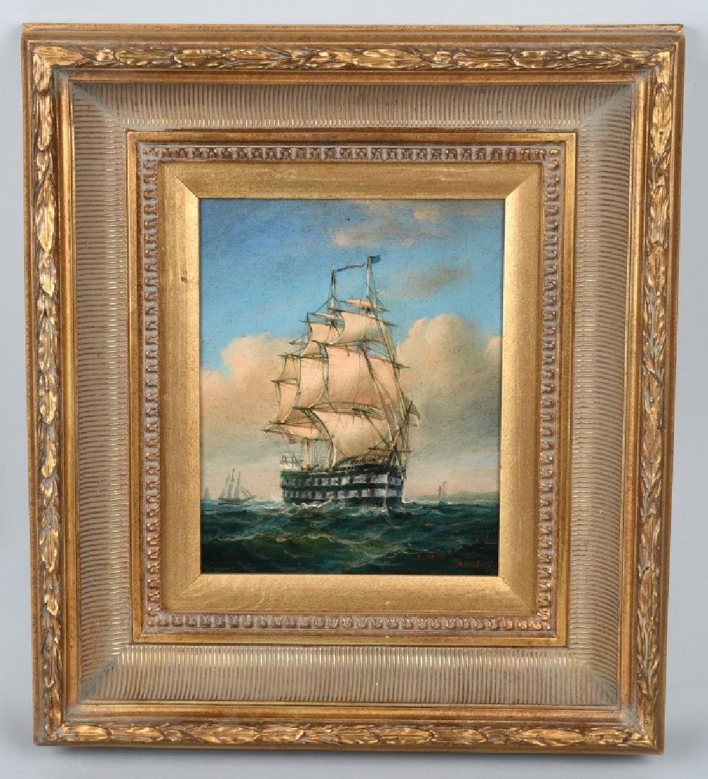 ROBERT SANDERS CLIPPER SHIP PAINTING