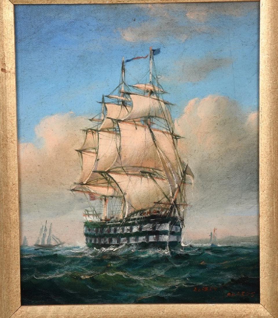 ROBERT SANDERS CLIPPER SHIP PAINTING - 2