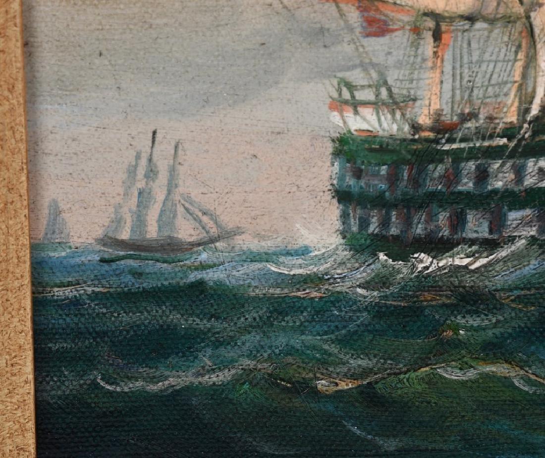 ROBERT SANDERS CLIPPER SHIP PAINTING - 3