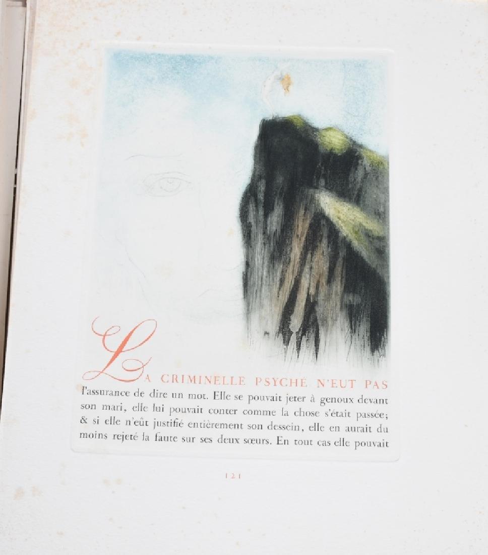 LOUIS ICART ETCHINGS, LES AMOURS de PSYCHE - 10