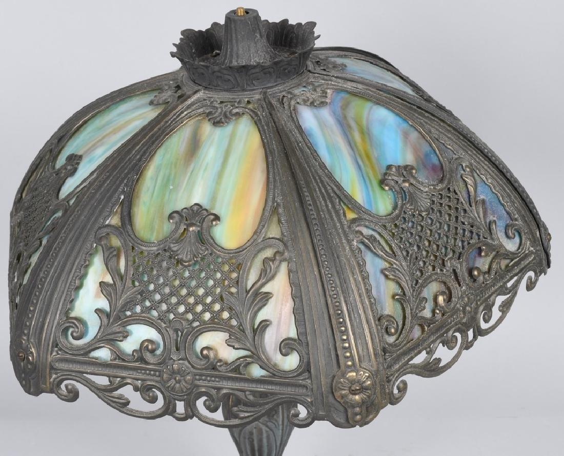 SLAG GLASS LAMP - 2