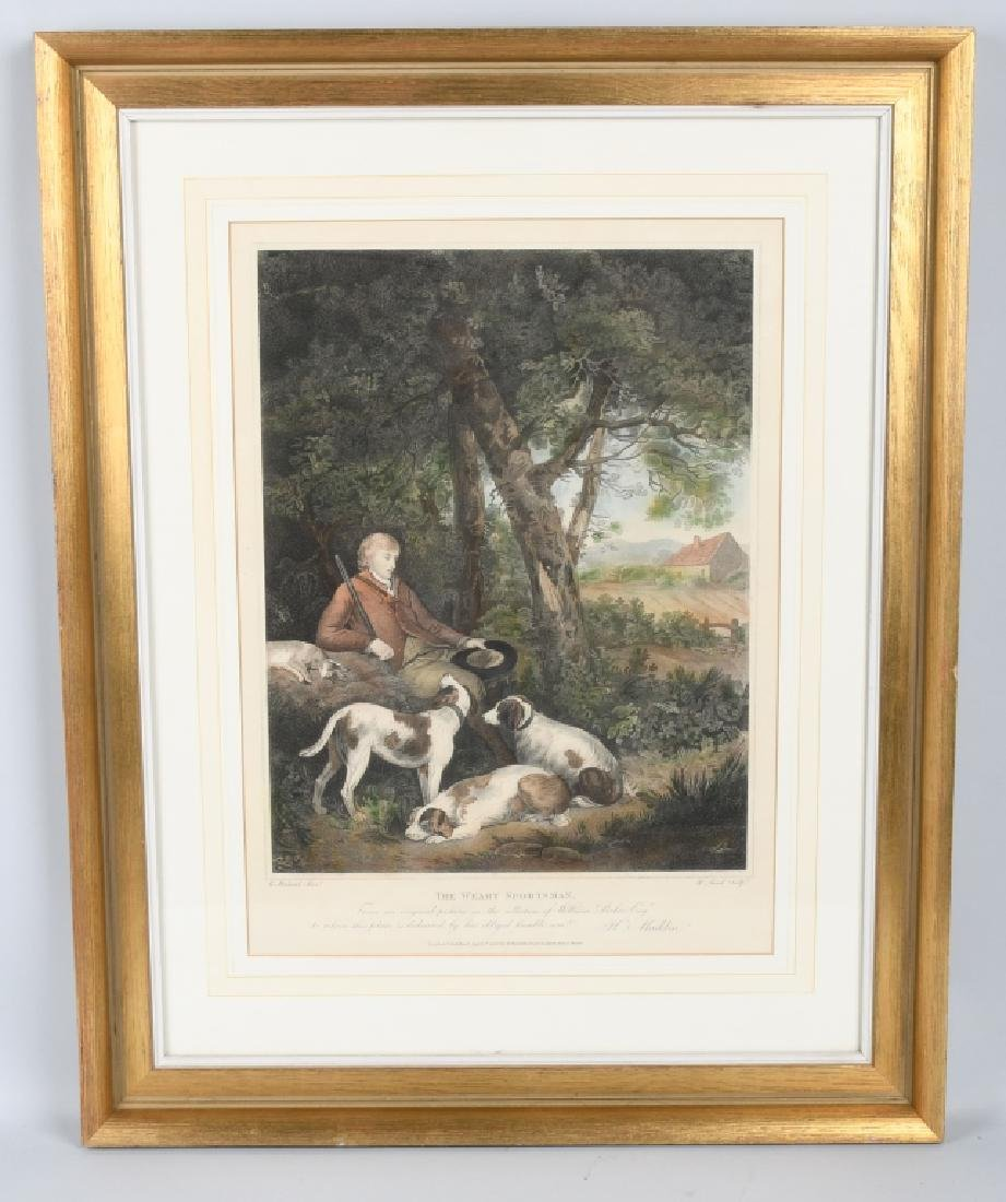 1803 ENGRAVING THE WEARY SPORTSMAN