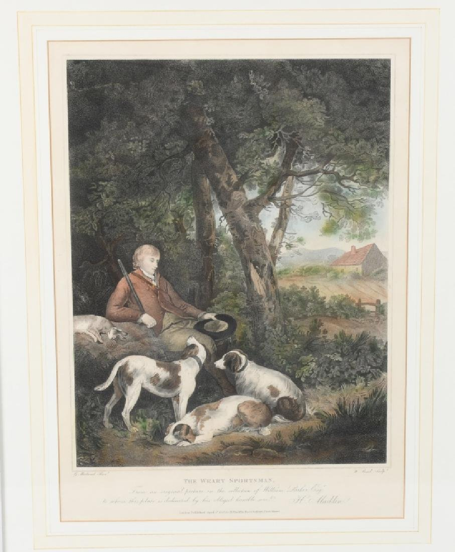 1803 ENGRAVING THE WEARY SPORTSMAN - 2