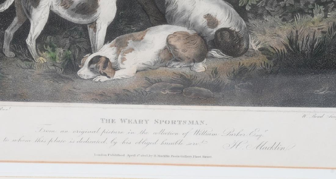 1803 ENGRAVING THE WEARY SPORTSMAN - 4