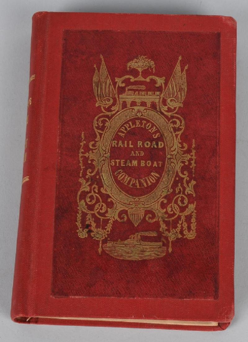 1848 APPLETON'S RAILROAD & STEAMBOAT COMPANION