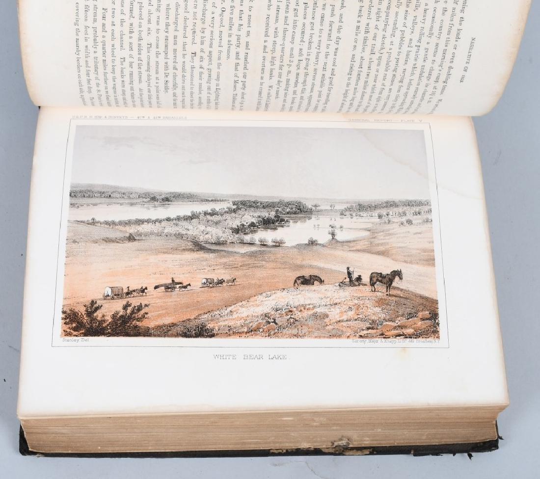 1853-1855 EXPLORATION RAILROAD VOLUMES I & XII - 4