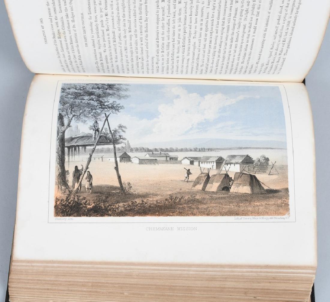 1853-1855 EXPLORATION RAILROAD VOLUMES I & XII - 8
