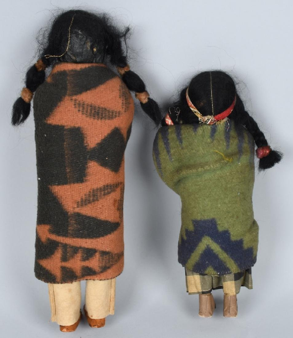 3-SKOOKUM UNDIAN DOLLS, ONE BOXED - 3
