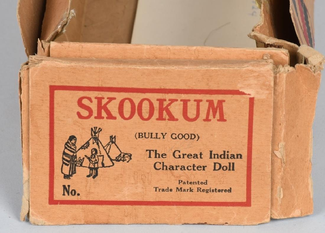 3-SKOOKUM UNDIAN DOLLS, ONE BOXED - 7