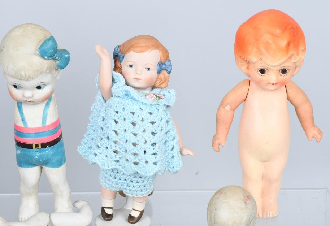 15-GERMAN & JAPAN BISQUE DOLLS and MORE - 3