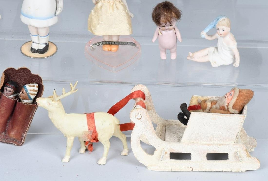 15-GERMAN & JAPAN BISQUE DOLLS and MORE - 7