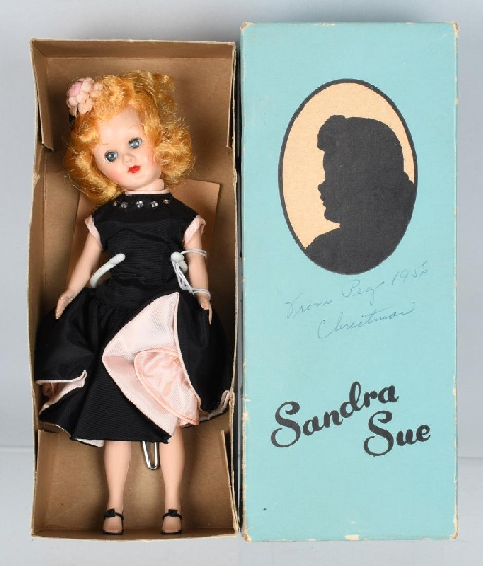 VINTAGE DOLL and STEIFF LOT - 6