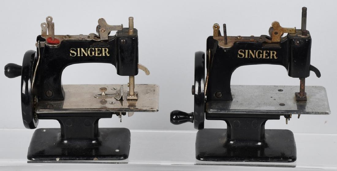 2-VINTAGE SINGER TOY SEWING MACHINES - 6