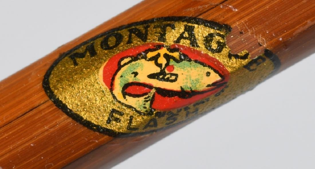 VINTAGE MONTAGUE SPLIT CANE FLY ROD - 4