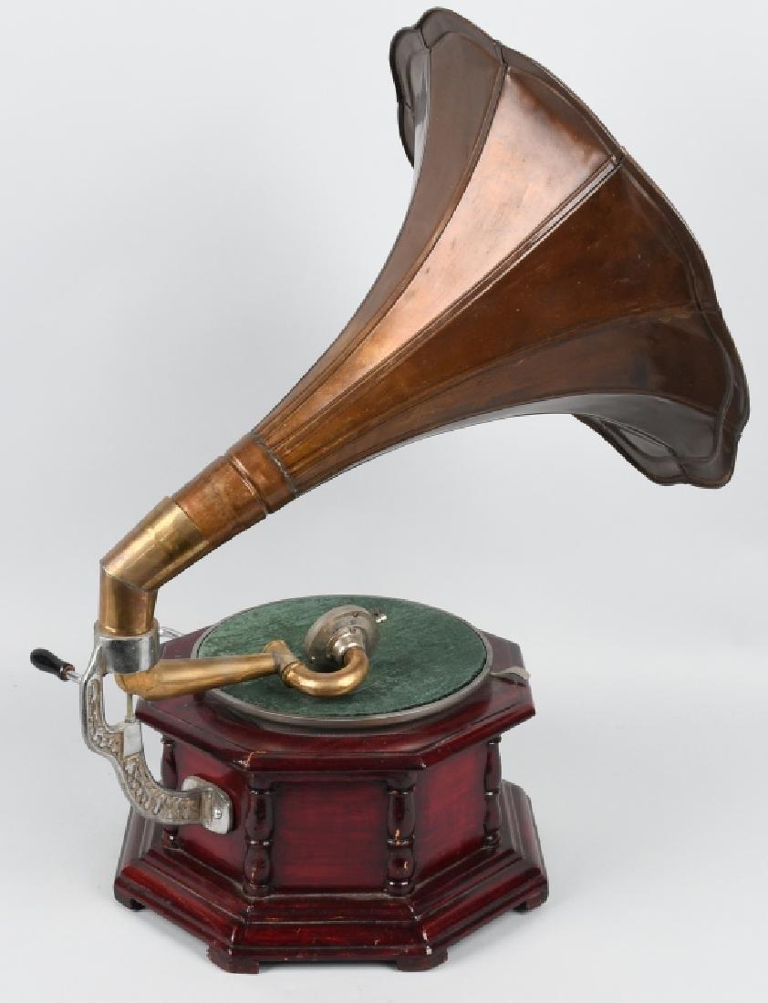 MODERN HIS MASTER'S VOICE GRAMOPHONE - 4