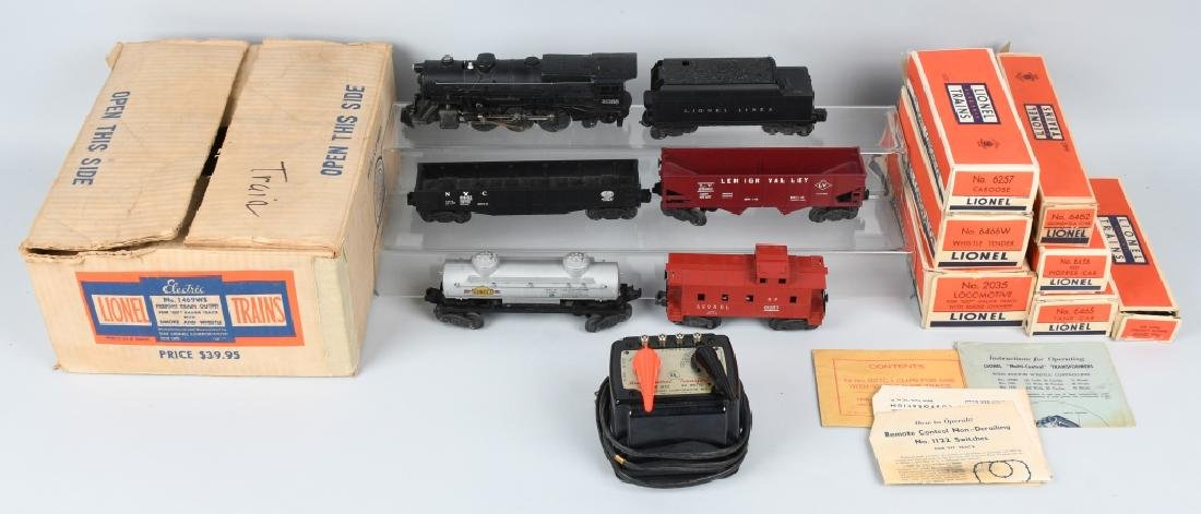 LIONEL No. 1469WS O27 TRAIN SET, BOXED
