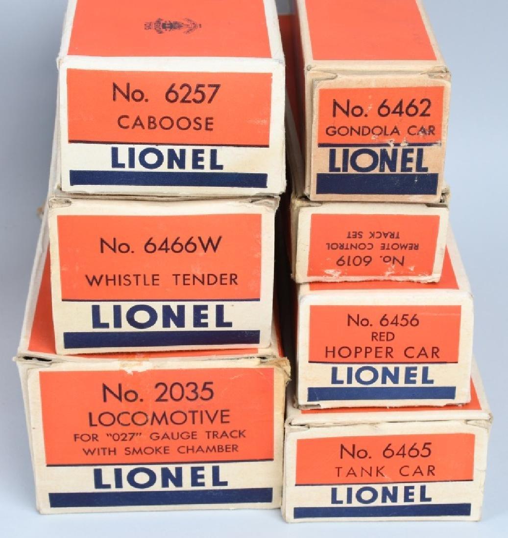 LIONEL No. 1469WS O27 TRAIN SET, BOXED - 4