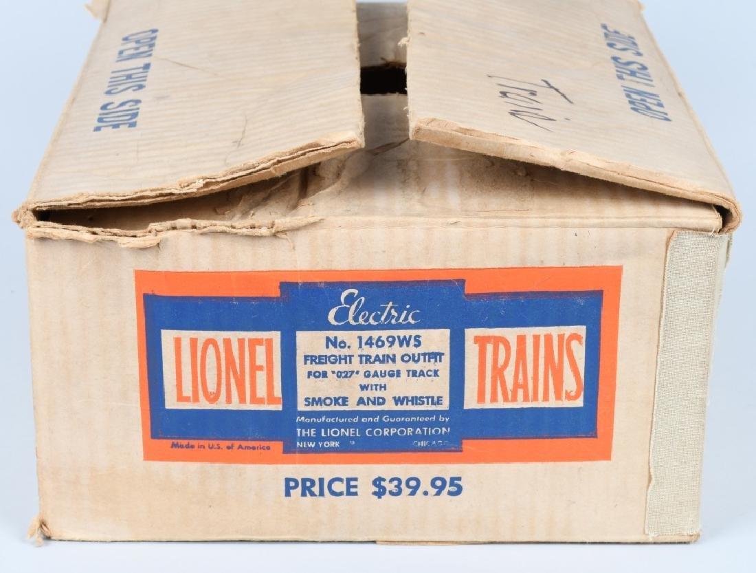 LIONEL No. 1469WS O27 TRAIN SET, BOXED - 8