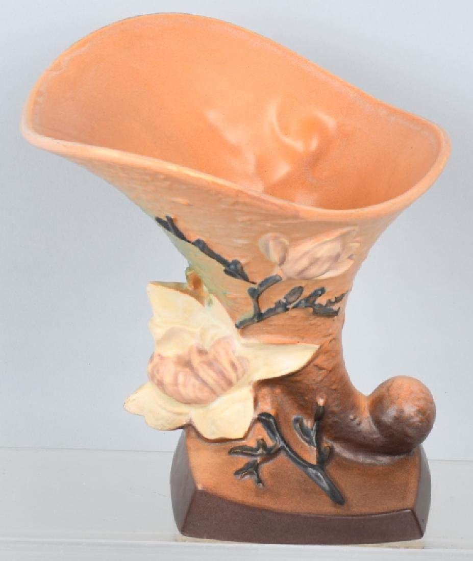 2-ROSEVILLE POTTERY VASES 185-8 and 988-10 - 5